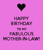 birthday wishes for boyfriends mom